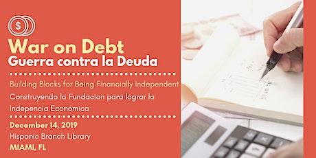 War on Debt / Guerra Contra la Deuda: FREE Workshop [Bilingüe] entradas