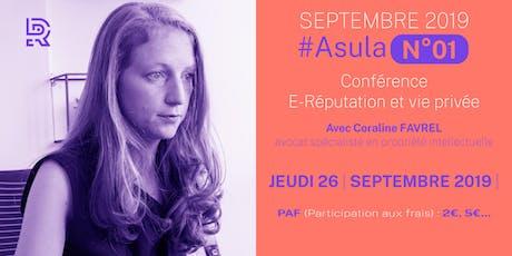 Asula N°01 - septembre 2019 (Conférence) billets