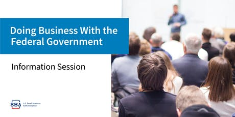Live Event - Marketing to the Federal Government tickets