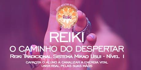 Iniciação Reiki nível 1 ingressos