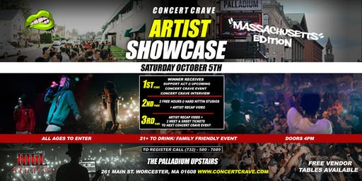 Concert Crave Presents: ARTIST SHOWCASE