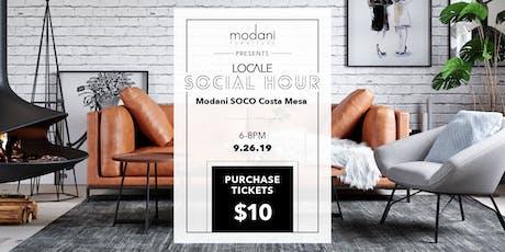 Locale Social Hour at Modani SOCO tickets