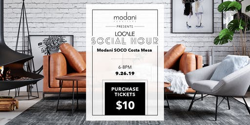 Locale Social Hour at Modani SOCO
