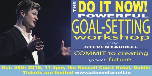 Do It Now, Powerful Goal-Setting Workshop