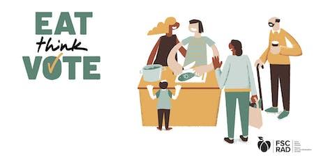Eat Think Vote, Vancouver Quadra tickets