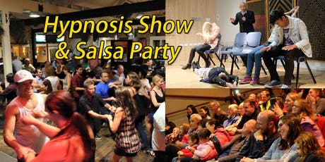 Comedy Hypnosis Show & Salsa Dancing Party tickets