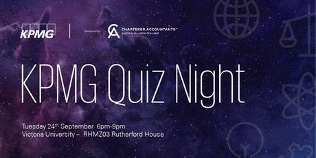 KPMG Student Quiz Night 2019 - Wellington tickets
