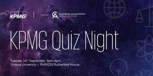 KPMG Student Quiz Night 2019 - Wellington