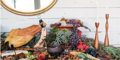 FARM TO TABLE: A Grazing Board & Table Workshop with Fount Board & Table