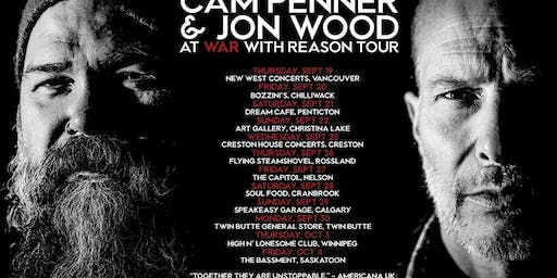 Cam Penner & Jon Wood: At war with reason tour
