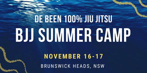 BJJ Summer Camp - Brunswick Heads