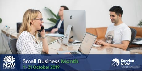 NSW Small Business Month - Starting up in Newcastle tickets