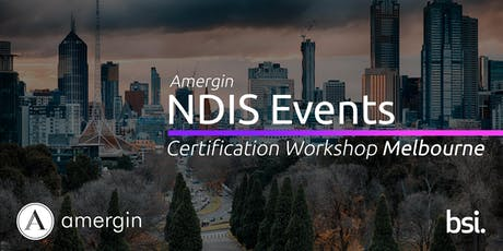 Amergin NDIS Certification 2-Day Workshop (Melbourne) tickets