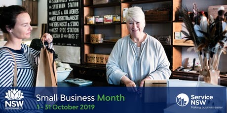 NSW Small Business Month - Ahead of the rest tickets