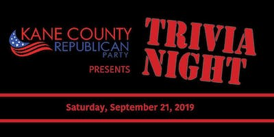 TRIVIA NIGHT presented by the Kane County Republican Party