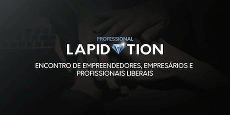 WORKSHOP PROFESSIONAL LAPIDATION: GESTÃO DE PROJET ingressos