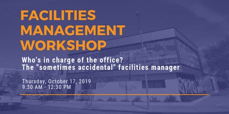 Facilities Management Workshop tickets