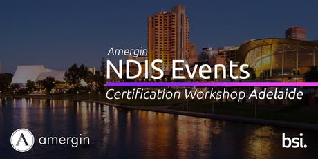 Amergin NDIS Certification 2-Day Workshop (Adelaide) tickets