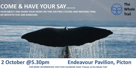 The Whale Trail - Community Engagement Session tickets