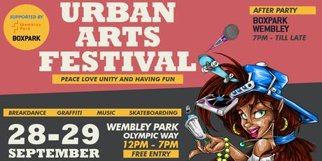 Urban Arts Festival WP tickets
