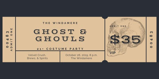 Ghost & Ghouls Costume Ball