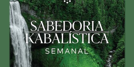 Pacote Sabedoria Kabalística Semanal | Novembro de 2019 | RJ ingressos