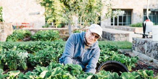 Copia Garden Tour with CIA Farmer Jon