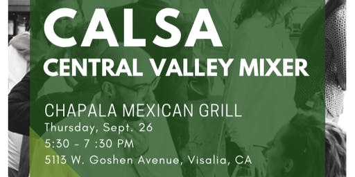 CALSA Central Valley Networking Mixer
