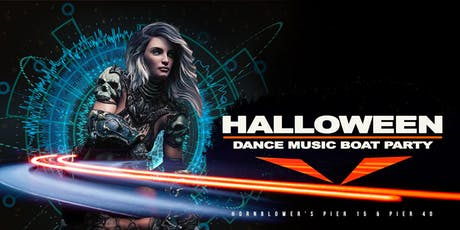 NYC #1 Halloween Dance Music Boat Party Yacht Cruise Saturday Night tickets