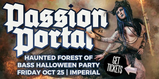 Passion Portal - Enchanted Forest Halloween Party - Online Tickets