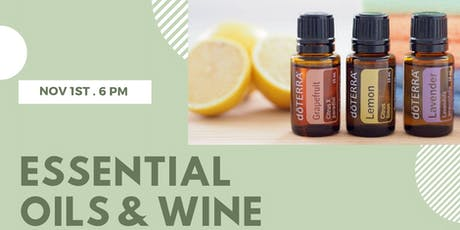 Pinot Girls Series: Essential Oils & Wine tickets