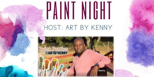 Paint Night with Kenny