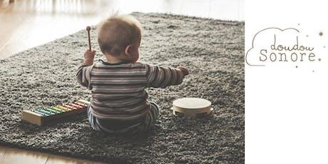 """atelier d'éveil musical """"Les petits éveillés""""  (0-5 ans) - Guillaume Duchesneau  billets"""