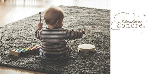 """atelier d'éveil musical """"Les petits éveillés""""  (0-5 ans) - Guillaume Duchesneau"""