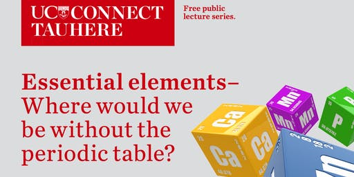 UC Connect: Essential Elements - Where would we be without the Periodic Table?
