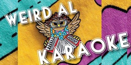 Weird Al Karaoke September 27 tickets