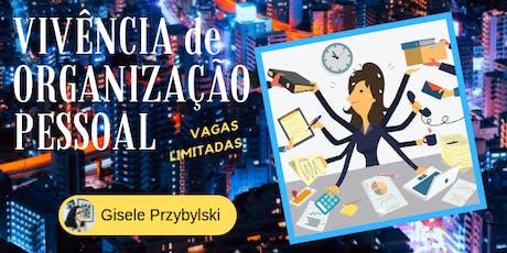 Vivência para Organização Pessoal - 2ª Edição ingressos