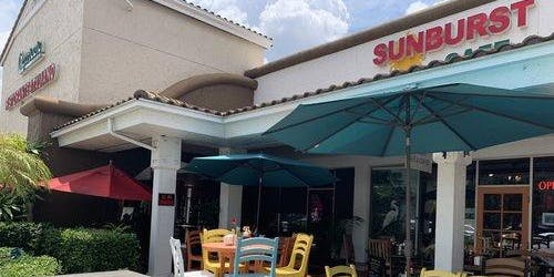 Sunburst Cafe Ribbon Cutting