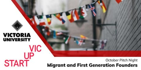 Pitch Night: Migrant and First Generation Founders tickets