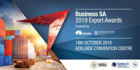 Business SA 2019 Export Awards tickets