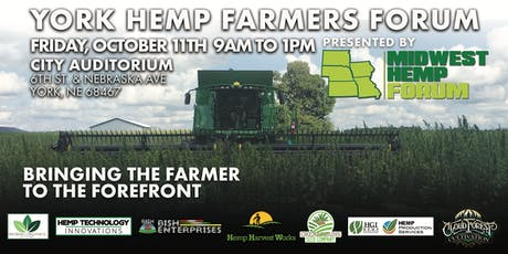 YORK HEMP FARMERS FORUM tickets