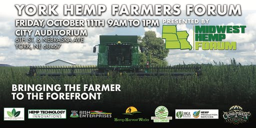 YORK HEMP FARMERS FORUM