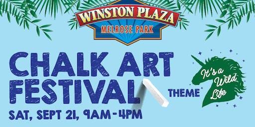 FREE Fall Premier Chalk Art Festival