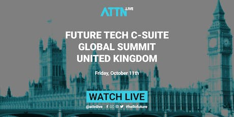 Future Tech C-suite Global Summit (London, United Kingdon) tickets