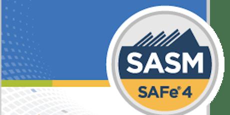 SAFe® Advanced Scrum Master($550- $1111)CAD tickets