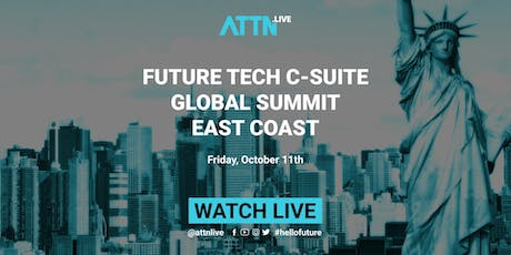 Future Tech C-suite Global Summit (New York, US East Coast) tickets