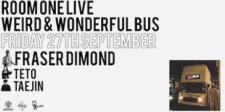 Weird & Wonderful Bus ft Fraser Dimond tickets