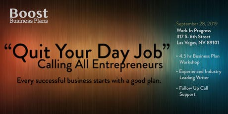 Entrepreneur Business Plan Writing Workshop tickets