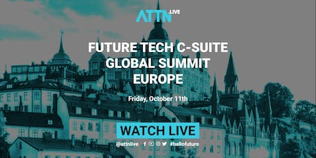 Future Tech C-suite Global Summit (Stockholm, Europe) tickets