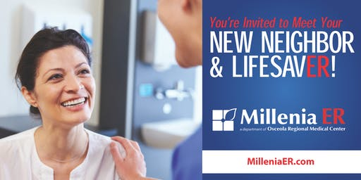 Millenia ER Ribbon Cutting Ceremony and Tours - Open to the Public